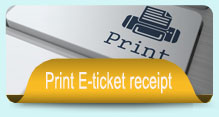 Print E-ticket receipt